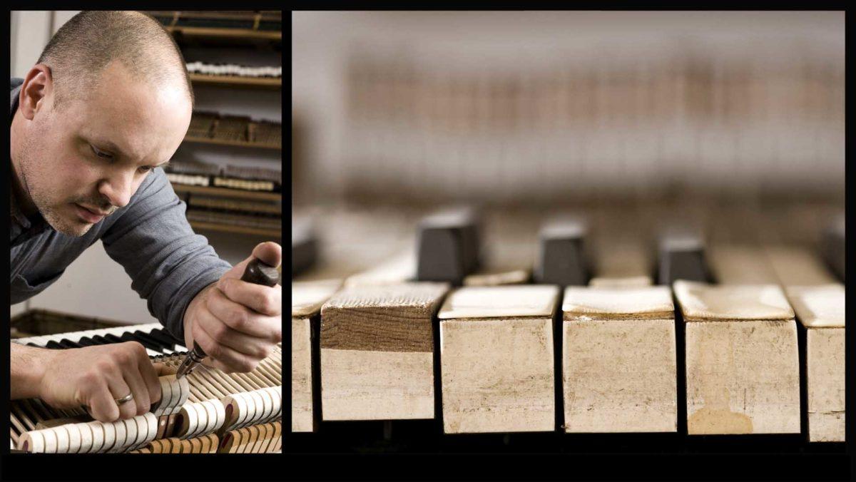 Portraitfotografie-Kunsthandwerk-Klaviermacher-Werkstatt