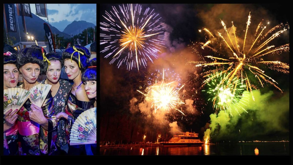 Eventfotografie-Reportage-MTB-Mountainbike-Bikefestival-Gardasee-Open-Night-Party-Event-Feuerwerk